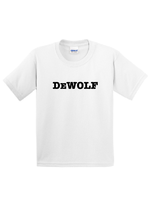 CDW White Short Sleeve Tee